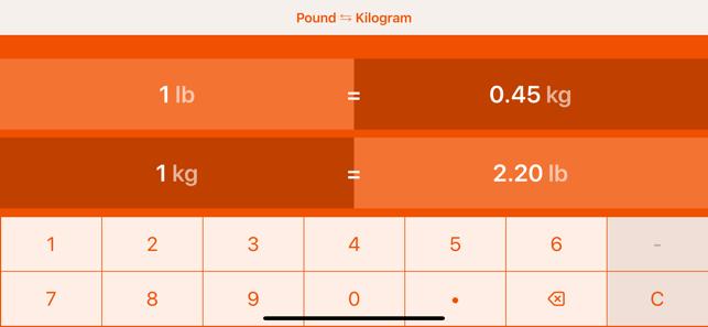 Transformar 1 kg a libras