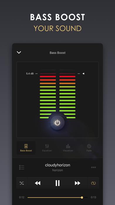 Equalizer+ HD music player Screenshot