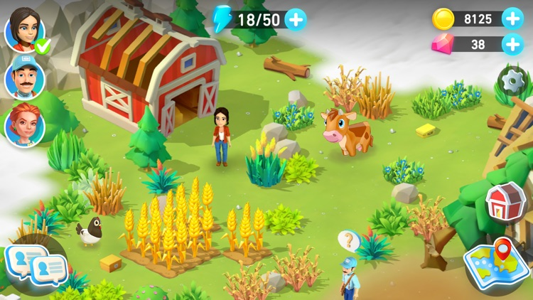 Goodville: Farm Game Adventure screenshot-8