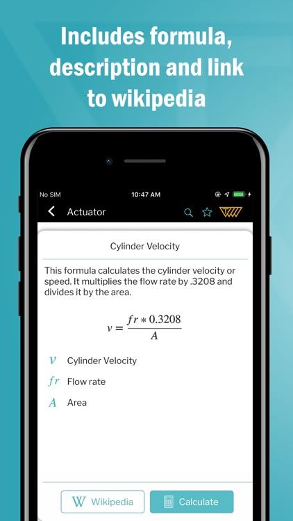 Mechanical Engg. Calculator screenshot-3