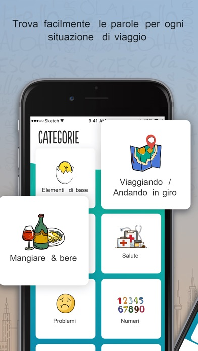 Screenshot for Francese Trocal in Italy App Store