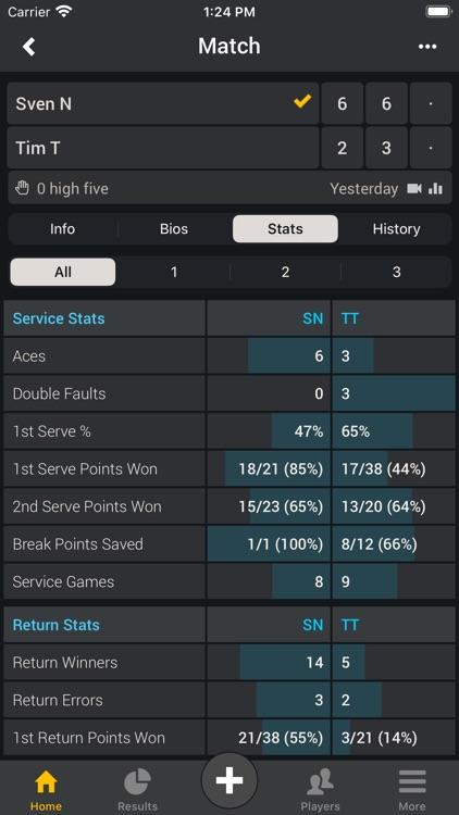Smashpoint Tennis Tracker screenshot-5