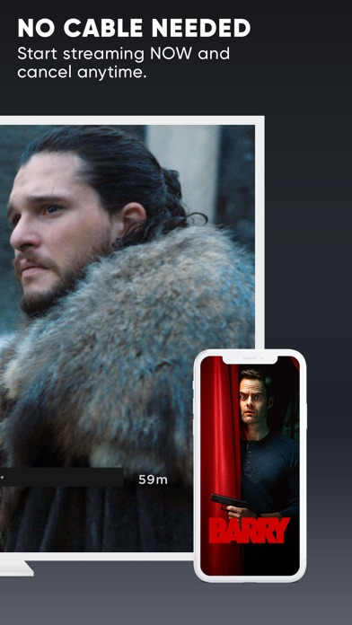 Screenshot of HBO NOW: Watch Game of Thrones App