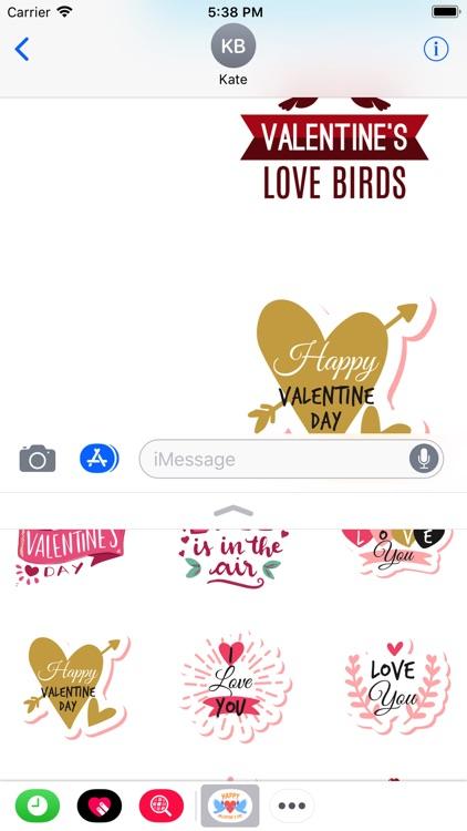 Valentine Day 2019 Stickers screenshot-3