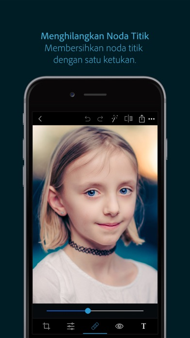 Screenshot for Photoshop Express-Edit Foto in Indonesia App Store