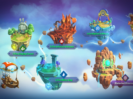 Skylanders™ Ring of Heroes screenshot #7