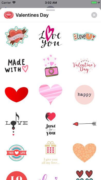 Love Happy Valentines Day Pack screenshot two