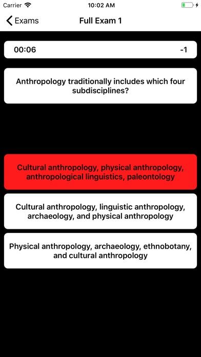 DSST Anthropology Buddy screenshot 4
