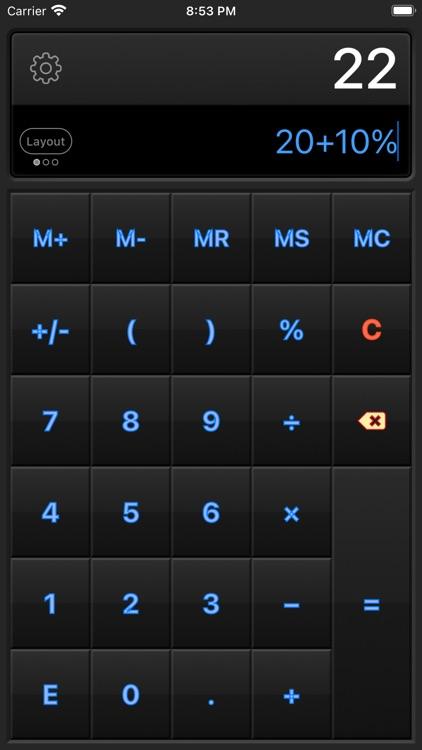 Calculator HD Pro Lite screenshot-3