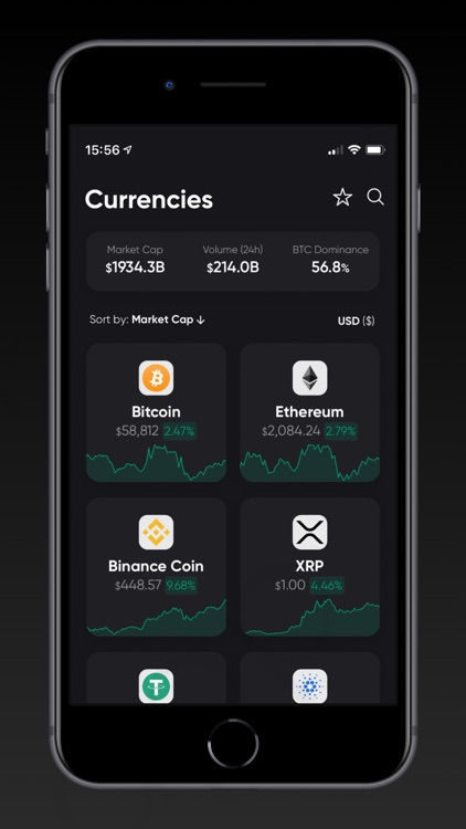 CoinViewer: Cryptocurrency App