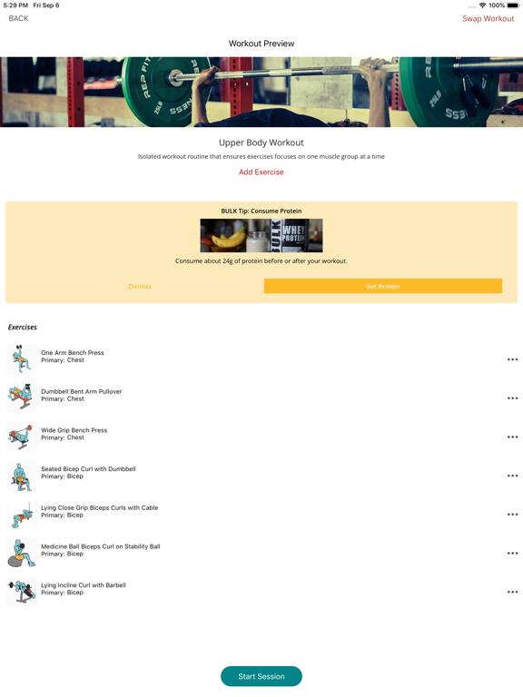 BULK - The Weight Gain App screenshot