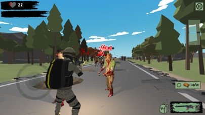 Zombie Hunter Shooter survival Screenshot