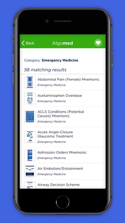 Algomed - Med Algorithms screenshot-5