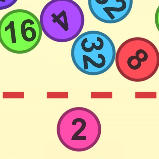 TamaMerge : 合体する数字のボール!