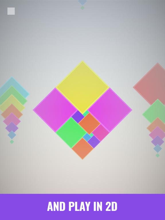 Isometric Squares - puzzle ²のおすすめ画像5