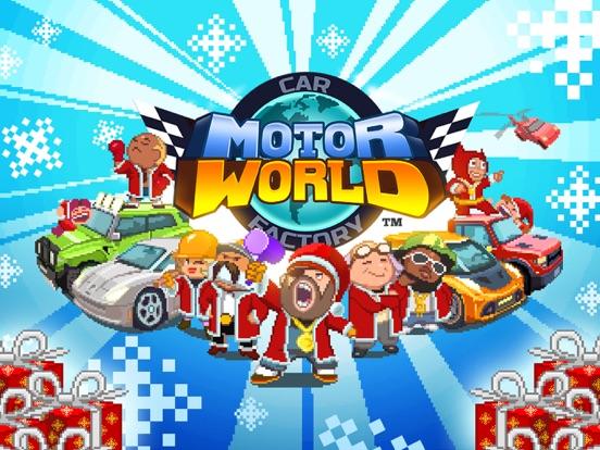 Motor World: Car Factory iPad app afbeelding 1