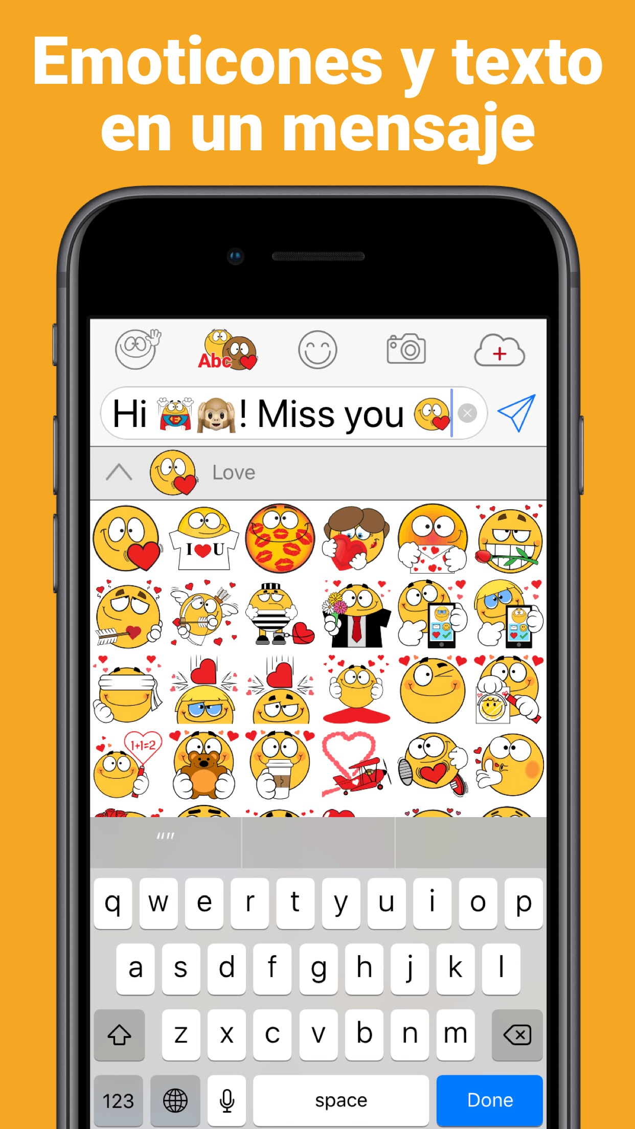 Emojidom emoticonos y emojis Screenshot
