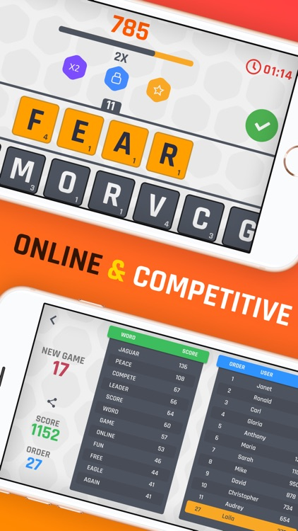 WordQ: Online Word Game!