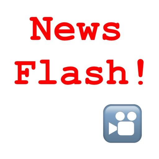 NewsFlash! Photo/Video Filter