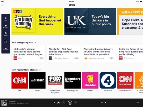 TuneIn Pro - Radio & Sports Screenshots