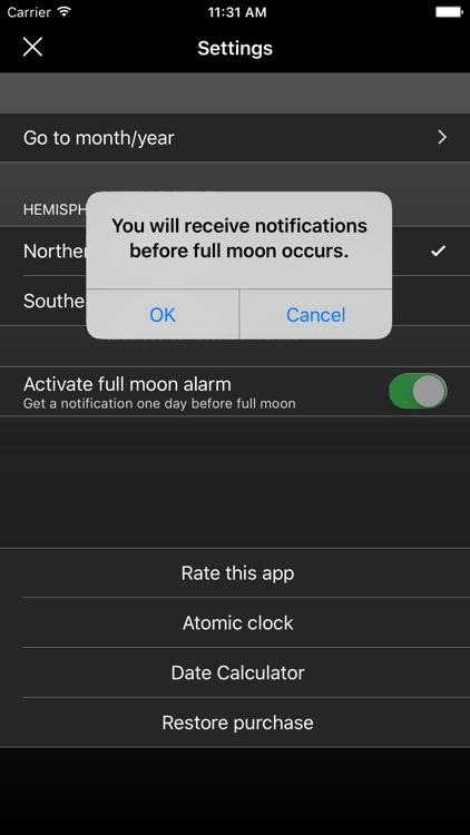 The Moon Calendar PRO screenshot-4