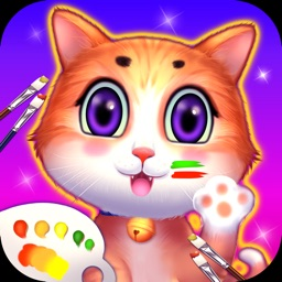 Painting board-coloring game