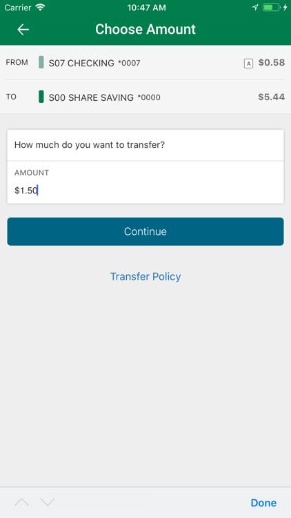 USF FCU Mobile Banking screenshot-5