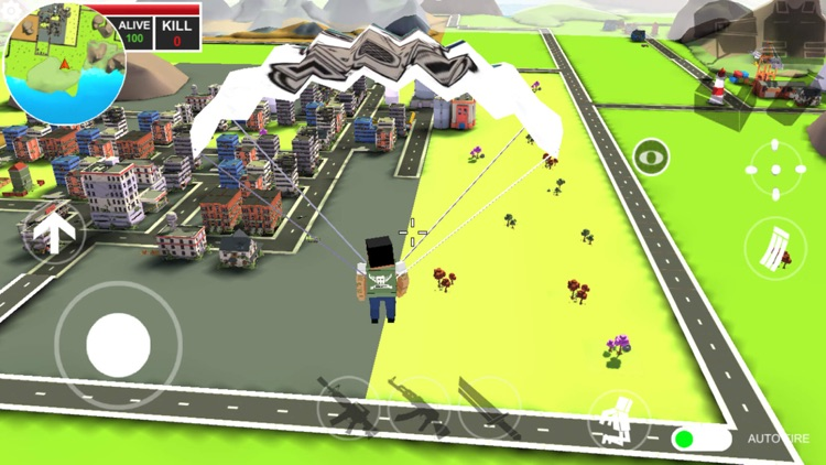 Pixels battle royale screenshot-4