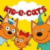 Kid-e-Cats 野餐: 卡通游戏, 教育小猫咪游戏!