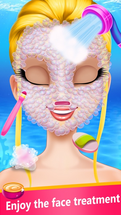 Mermaid Clothes Salon & Makeup Screenshot on iOS