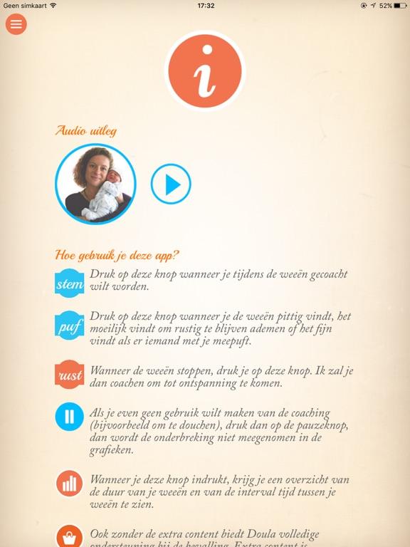 Bevallingscoach | zwangerschap iPad app afbeelding 3