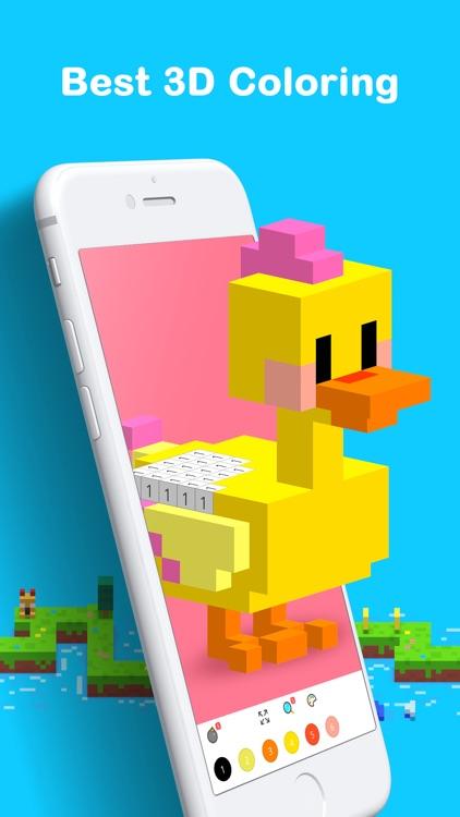 Voxel: Pixel Art Coloring screenshot-0