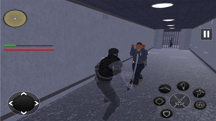 Ninja Rope Hero Prison Wayout screenshot-5