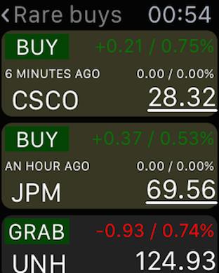 Screenshot #15 for Buy-Sell-Hold+ Stocks