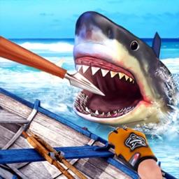 荒岛海洋求生-狩猎鲨