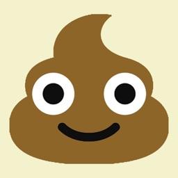 Poop emoji stickers for phone