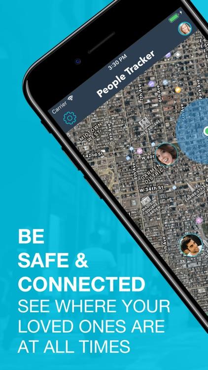People Tracker - GPS Locator screenshot-0