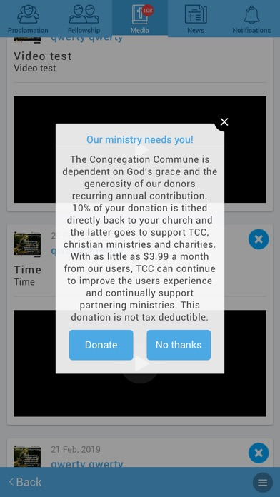 Screenshots for The Congregation Commune