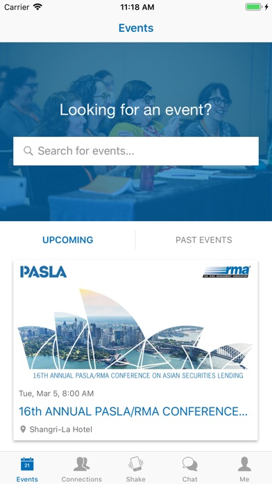 Screenshot for RMA Conferences in Viet Nam App Store