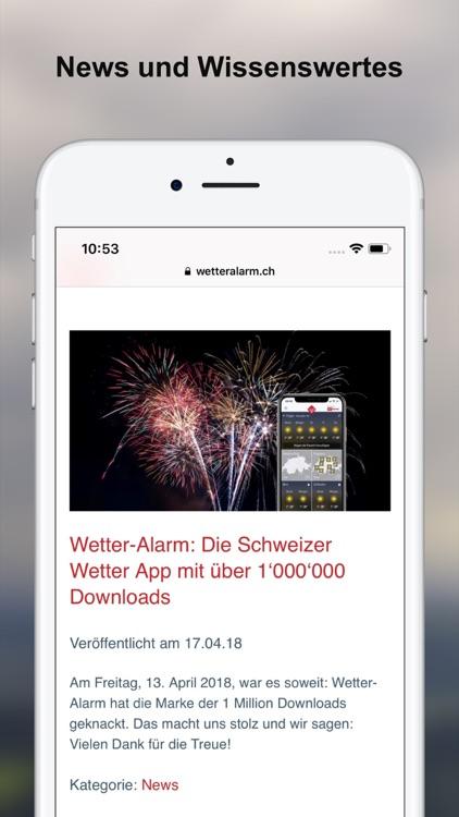 Wetter-Alarm: für die Schweiz screenshot-7