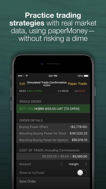 thinkorswim: Buy. Sell. Trade. screenshot-3