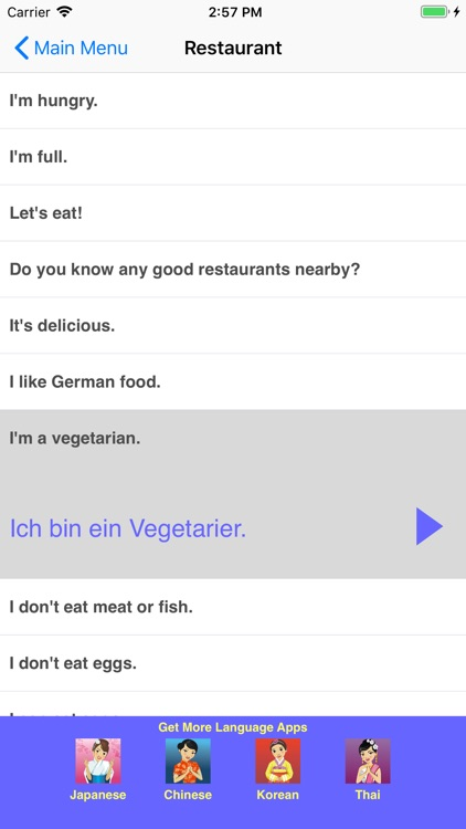 Speak German Travel Phrasebook screenshot-3