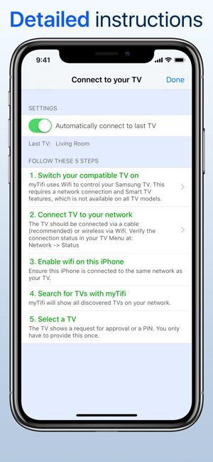 application iphone smart tv samsung