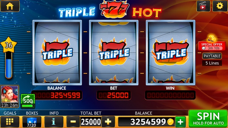 Wild Triple 777 Slots Casino screenshot-3