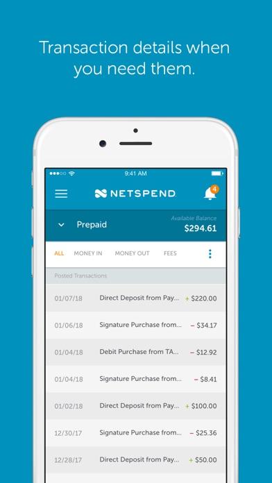 Netspend review screenshots