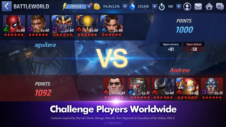 MARVEL Future Fight screenshot-5