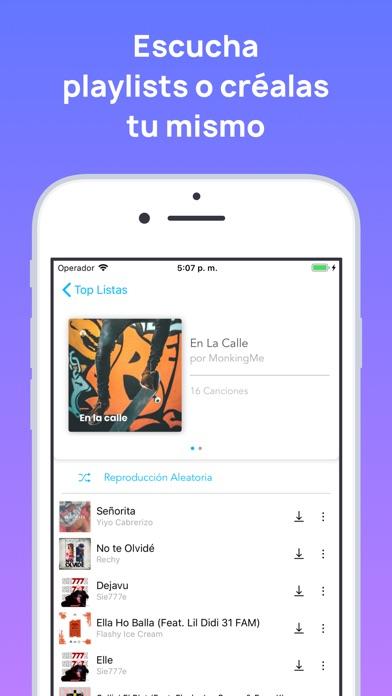 download MonkingMe Descargar Música apps 0