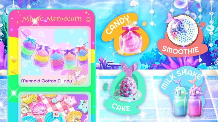 Unicorn Chef: Mermaid Cooking screenshot-5