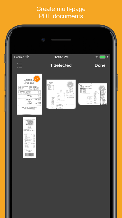 Genius Scan - PDF Scanner Screenshot
