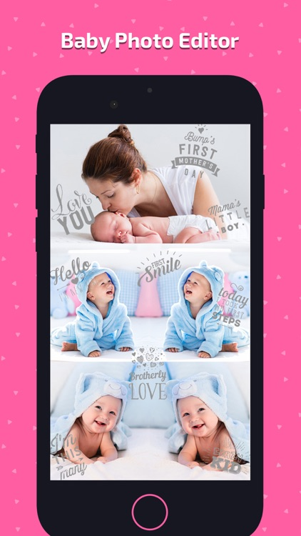 Baby Photo Art - Monthly Pics screenshot-7